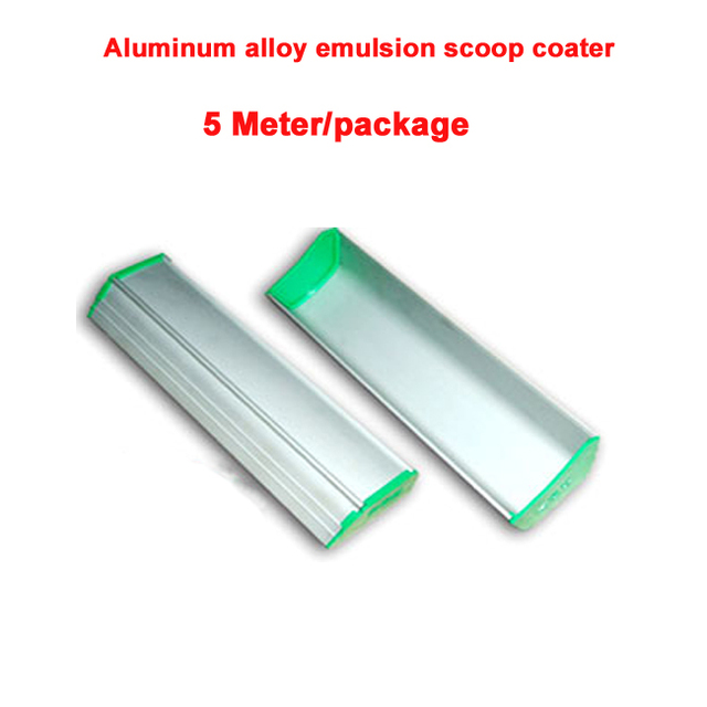 5 meters/pack Alloy Aluminium Emulsion Scoop Coater With Ears hot sales