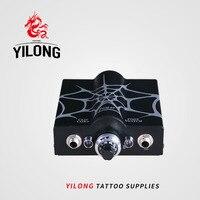 Professionale Mini Alimentazione elettrica Del Tatuaggio Nero Spider Web Doppia Onda Alimentazione elettrica Del Tatuaggio Tattoo & Body Art Spedizione Gratuita