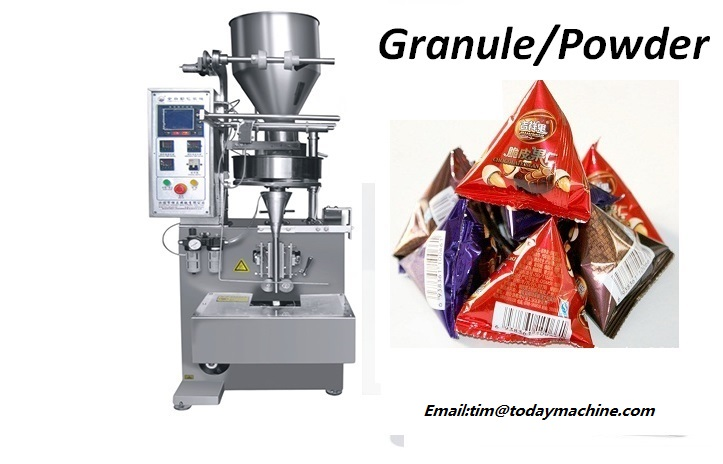 Automatic Granulated Chips snack vertical packing machine in Relays from Home Improvement