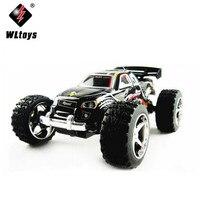 WL Zabawki 2019 2.4G 4WD 1/32 Wysokiej Prędkości Off-Road Racing Mini Elektryczne R/C Samochód Zdalnego sterowania Elettronico Monster Truck Auto Truggy