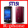 Original Sony Ericsson Xperia mini St15i Mobile Phone Android SmartPhone 3G WIFI A-GPS Unlocked Cell Phone