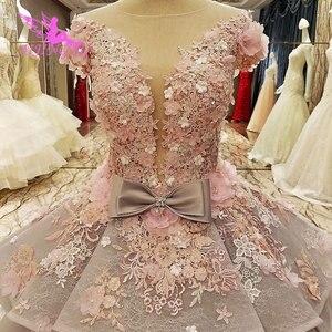 Image 5 - فستان AIJINGYU Isreal للإناث في حفلة القطار الطويل 2021 2020 أبيض جميل فساتين زفاف للعرائس الأكبر سنا