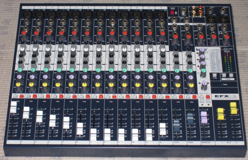 High Quality EPM12 Live Sound Mixer DJ karaoke music Mixer Professional Mixer Console hot selling