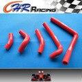 Силиконовый шланг радиатора для Honda CR250 CR250R CR 250 R 2002-2008 03 04 05 06 07 красный
