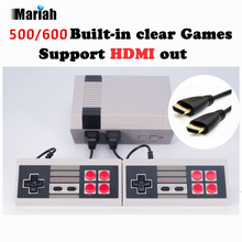 Retro Familie HDMI Mini TV Spielkonsole HD Video Classic Handheld Spiel Auto-mp3-dvd-player Eingebaute 500/600 Spiele HD Dual Gamepad Steuert