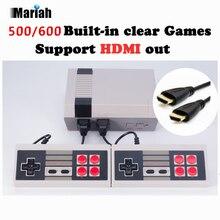 Retro Familia HDMI Mini TV Juego Los Jugadores De Juegos de Consola de Video HD Clásico Incorporado 500/600 Juegos HD Dual Gamepad Controles