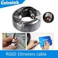 De Calidad superior 5D Cable 10 Metro 50 ohmios Cable Coaxial N Macho Para El Teléfono Móvil amplificador de Señal Del Repetidor Del Amplificador