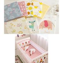 Детские простыни, хлопок, Детские простыни для детской кровати, для новорожденного мальчика, для девочки, простыня, большой, маленький размер, постельные принадлежности, 130*90 см