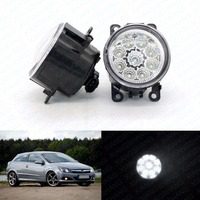 LED Front Fog Lights For OPEL ASTRA H GTC 2005 2006 2007 2008 2009 2015 Car Styling Round Bumper DRL Daytime Running Driving