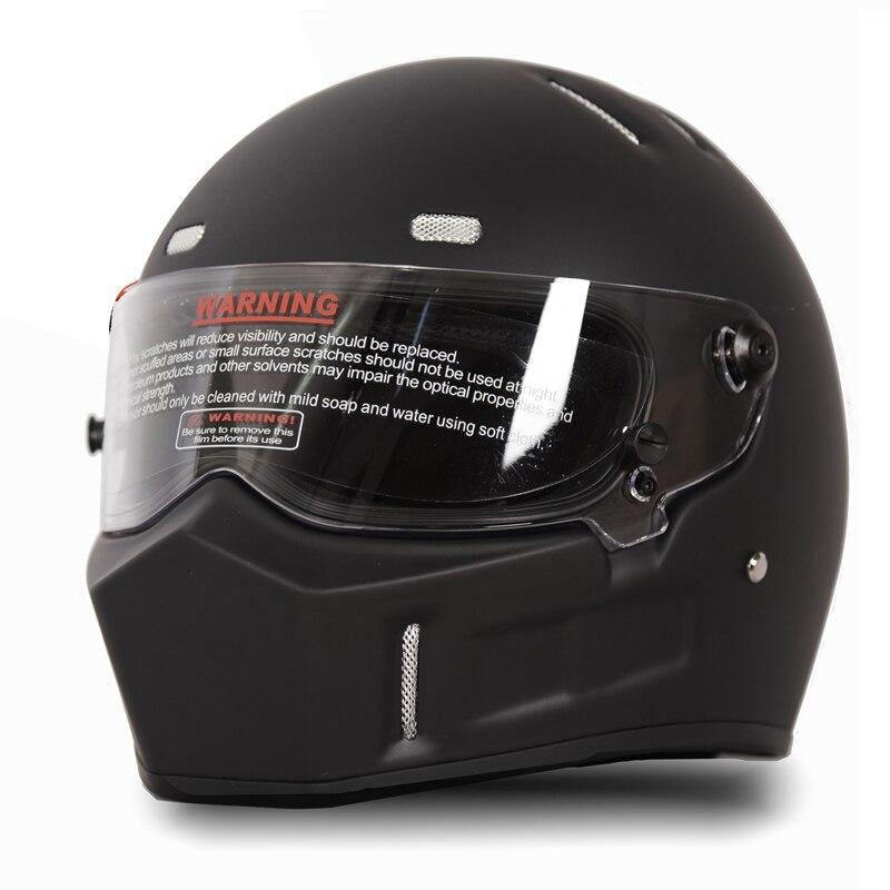 Full Face Helmet Motocross MX Off-Road ATV Dirt Bike S M L XL DOT Shield Visor