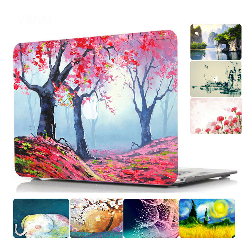 Nature landscape Pattern Hard Laptop Case for MacBook Air Pro Retina 11 12 13 15 Inch Case for Macbook A1707 A1706 A1708 Case waterproof 8000 lumens led flashlight lamp torch light zoomable lanterna tactical military police flashlight camping torch