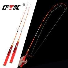 Ftk удочка для зимней подледной рыбалки жесткая Удочка с катушкой