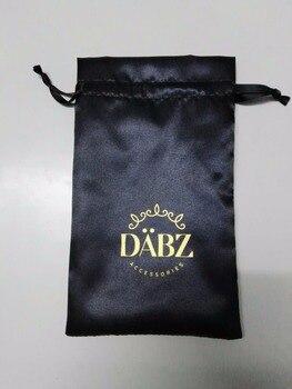 Envío Gratis 500/piezas de la bolsa de 12*20 cm bolsa de joyería al por mayor de bolsa de regalo con 1 logotipo de color para joyería