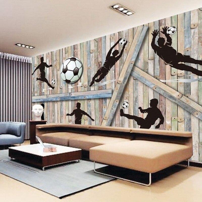 online kopen wholesale 3d muurschilderingen behang man uit china, Deco ideeën