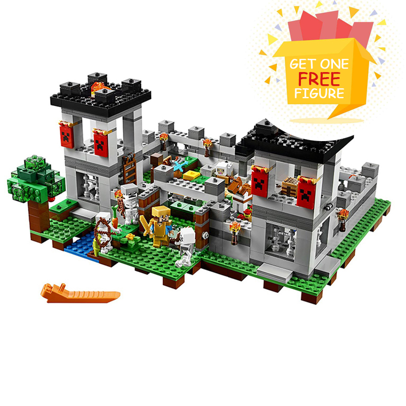 Bela Pogo Compatible Legoe 10472 Pogp 990pcs+ The Forest Minecraft Models Gifts For Children Building Blocks Bricks toys for lepin 75821 pogo bela 10505 birds piggy cars escape models building blocks bricks compatible legoe toys
