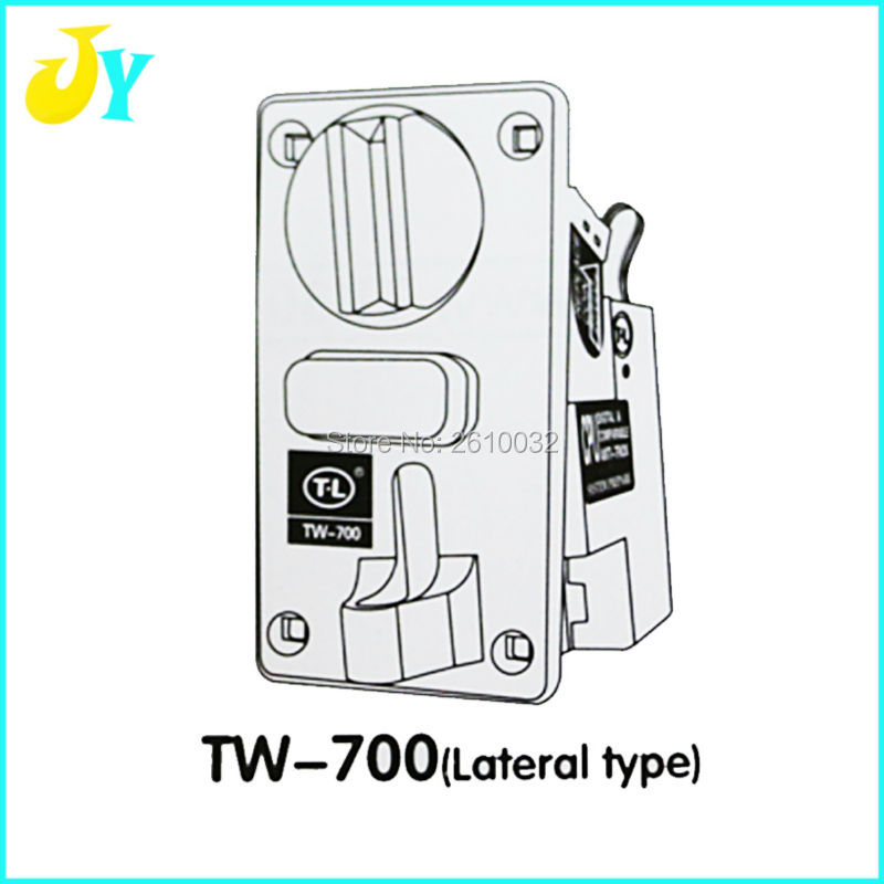 US $15 6 |TW 700 Lateral type CPU program electronic Coin Acceptor Token  Acceptor Mechanical coin acceptor arcade game machine part-in Coin Operated