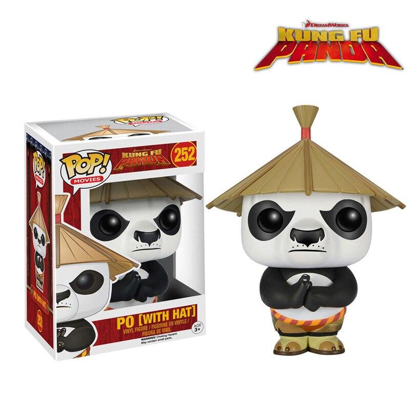 Vinyl Figure Funko Kung Fu Panda Po With Hat Pop