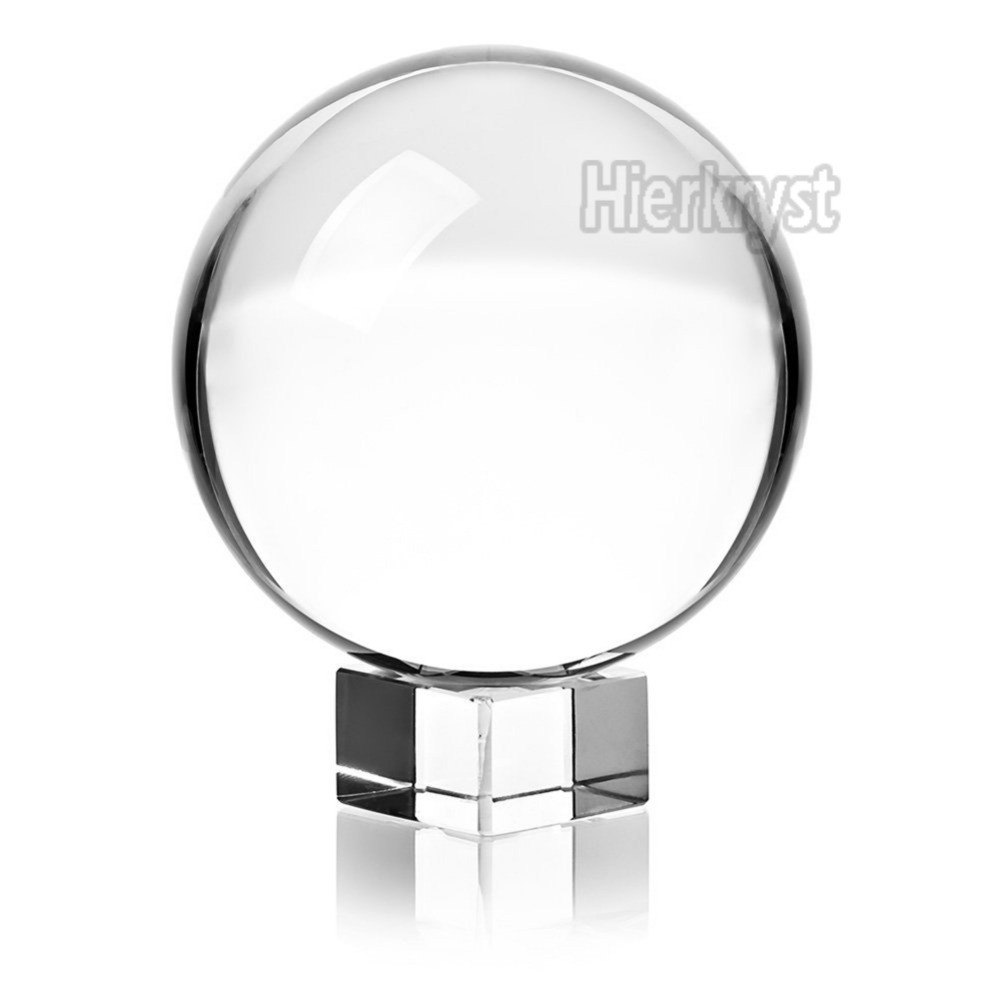 Huge Asian Quartz Clear Magic Crystal Healing Ball Sphere 60MM With Free Stand M02063-2