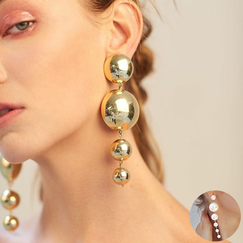 2019 Cadeau New Fashion Multi cristal Strass Ear Drop Dangle Boucles d/'oreilles clou 349