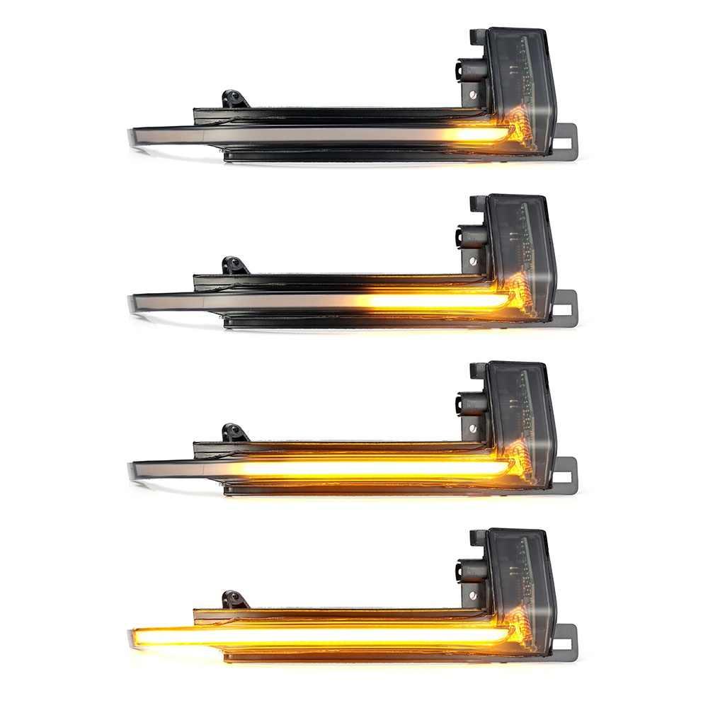 2 cái Năng Động Blinker Gương Sáng cho Xe Audi A4 A5 B8 A3 8P Q3 A6 C6 4F S6 LED nhan Bên Chỉ Báo Blinker SQ3 A8 D3 8K
