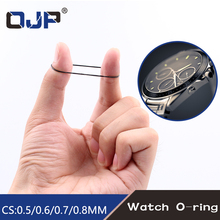 500pcs/750pcs/950pcs 0.5mm/0.6mm/0.7m/0.8mm 12-30mm/16-30mm/31mm-40mm O Ring Rubber Seal Washers Waterproof Round Watch Gaskets