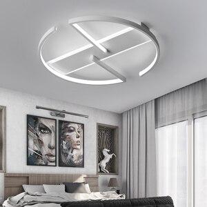 Image 3 - Plafonnier au design moderne, luminaire de plafond, idéal pour un salon, idéal pour une chambre à coucher ou une étude, LED, LED