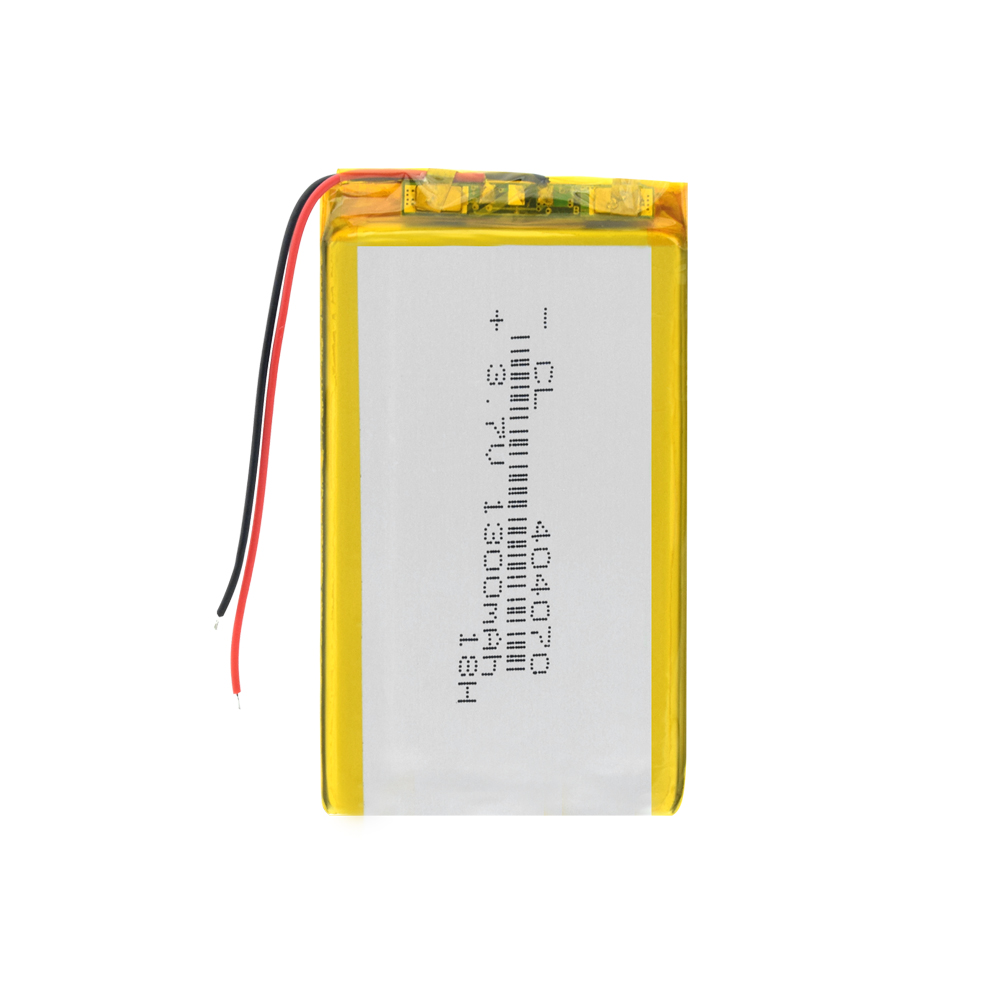 Polymer battery <font><b>1300</b></font> mah 3.7V 404070 smart home MP3 speakers Li-ion battery for dvr,GPS,mp3,mp4,MID PDA PSP Power Bank,E-book image