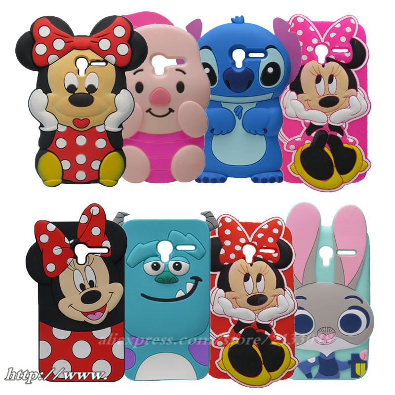 3d Cartoon Rabbit Girl Silicone Phone Back Cover Case For