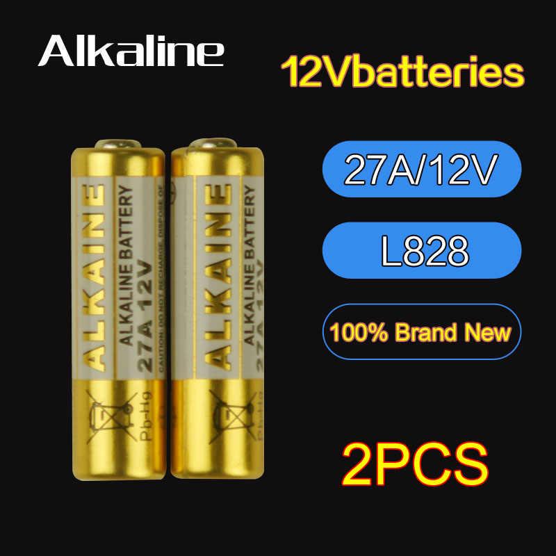 12V27A L828 Super Alkaline Batterij 27A12V Afstandsbediening Batterij