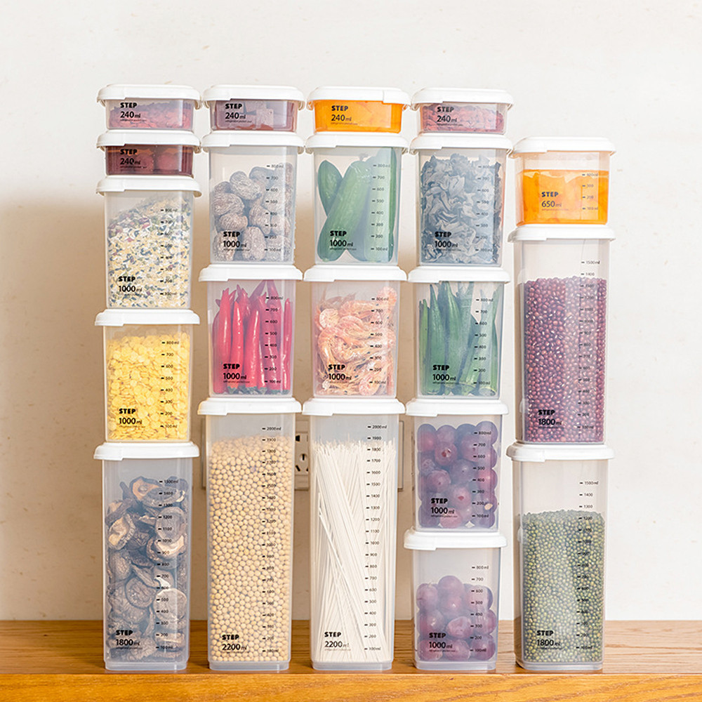 Amazing Kitchen Storage Boxes Part - 3: 5pcs/lot Kitchen Storage ...
