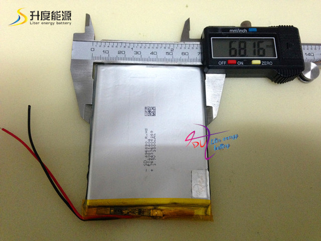 496890 3000mah Medical equipment, game machine polymer battery for sale
