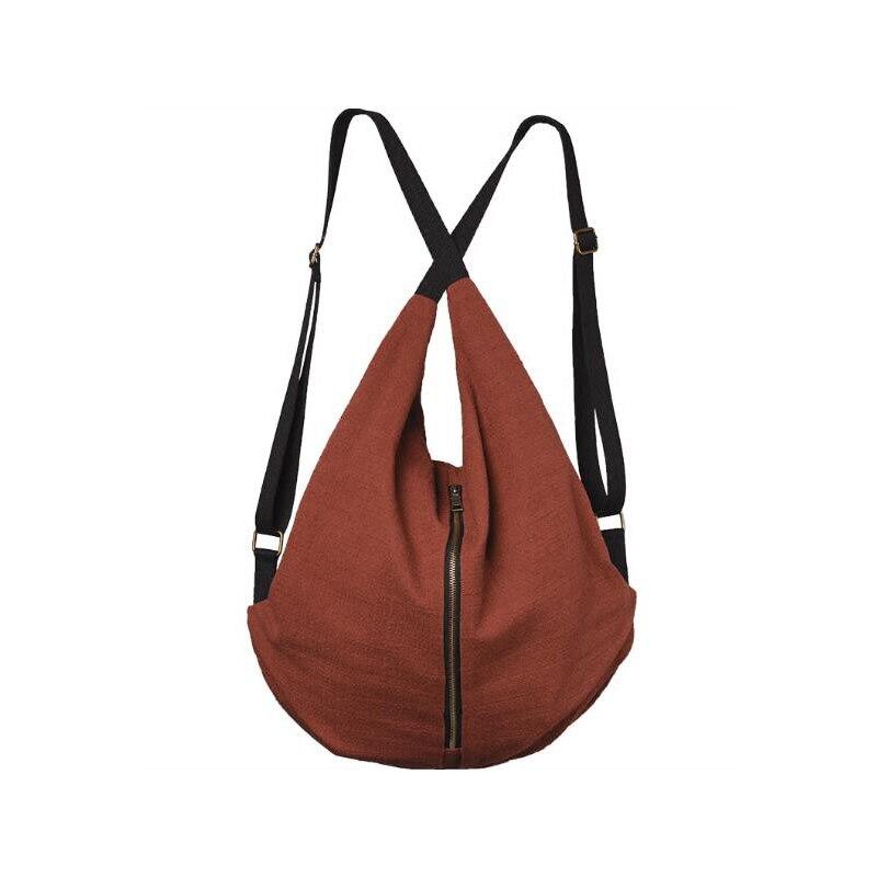 women Multifunction backpack bags ladies casual vintage bag large capacity bag Leisure girl travel bag 3