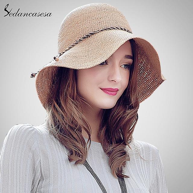 Марка 2016 Моды Женщин Дамы Отдых Летом Пляж Любовь Соломы Рафии Шляпа Высокое Качество Шляпы SW105112