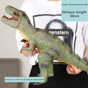 Dinosaur Triceratops diplodocus rubber soft toy dinosaur t rex Sound Jurassic Real Life Dinosaur Figures for kids toys GF223(China)