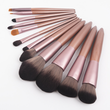 VERONNI Luxury Champagne 12PCS Makeup Brushes Set For Foundation Powder Blush Eyeshadow Lip Eye Make Up Brush Cosmetics Tools