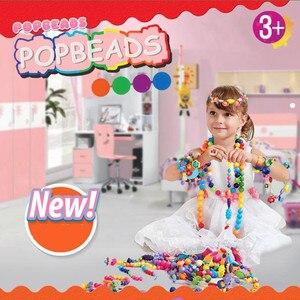 400pcs 100pcs Pop Beads Childr