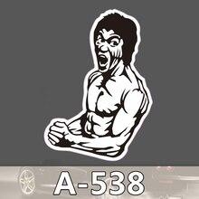 A-538 Kungfu Online Wasserdichte Kühle DIY Aufkleber Für Laptop Gepäck Skateboard Kühlschrank Auto Graffiti Cartoon Aufkleber