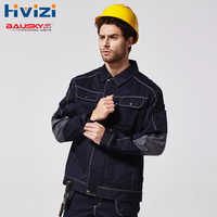 Mens Spring Autumn Workwear Jacket Multi Pockets Work Clothes Uniforms Male Mechanic Construction Working Jackets B212