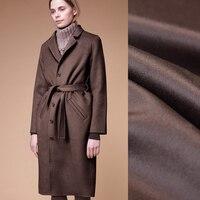 Качество 150 см шириной 830 г/м Вес double faced бронзовая толстые кашемир осень зима пальто Верхняя одежда, куртки Ткань j011