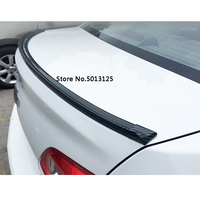 For Volkswagen VW Passat B6 B7 Car Tail Decorative Stickers Rear Trunk Spoiler Lip Tail Trunk Wing Trim Exterior Accessories