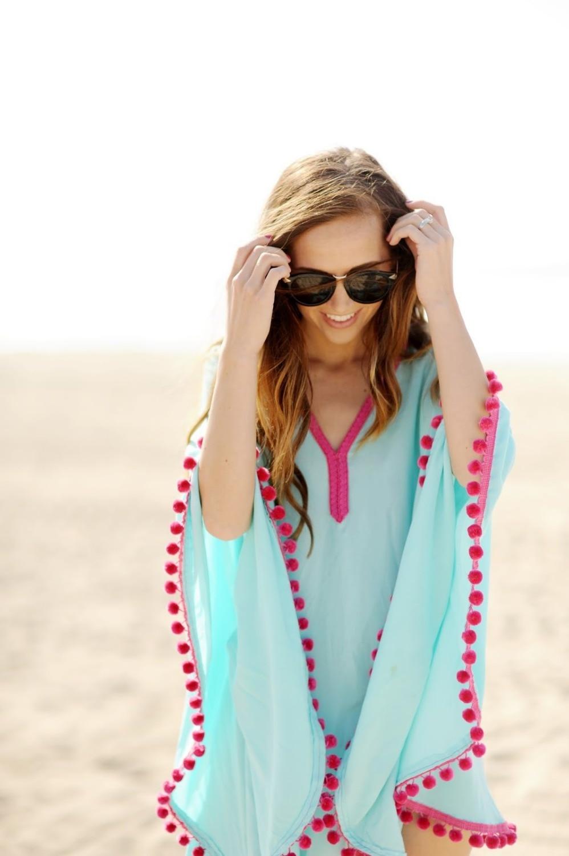 Analytisch 2018 Nieuwe Hot Vrouwen Seaside Holiday V-hals Strand Blouse Chiffon Shirt