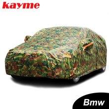Kayme – housse de voiture camouflage étanche, couverture de protection solaire extérieure pour BMW e46 e60 e39 x5 x6 x3 z4 e90 e36 e34 e30 f10 f30 sedan