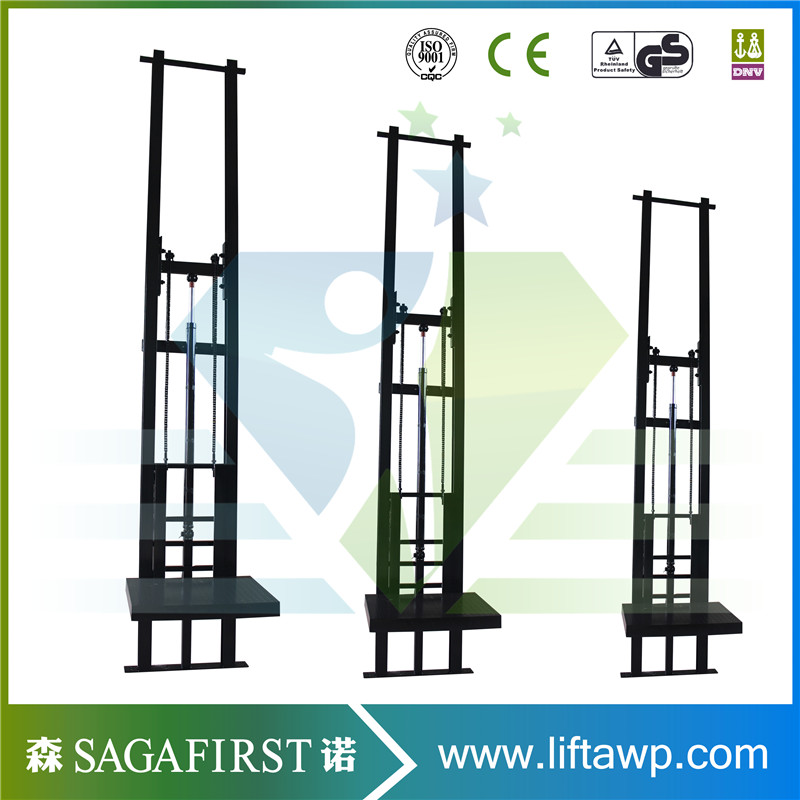 Outdoor Car Lift >> Outdoor and indoor good vertical rail freight elevator platform hydraulic warehouse cargo lift ...