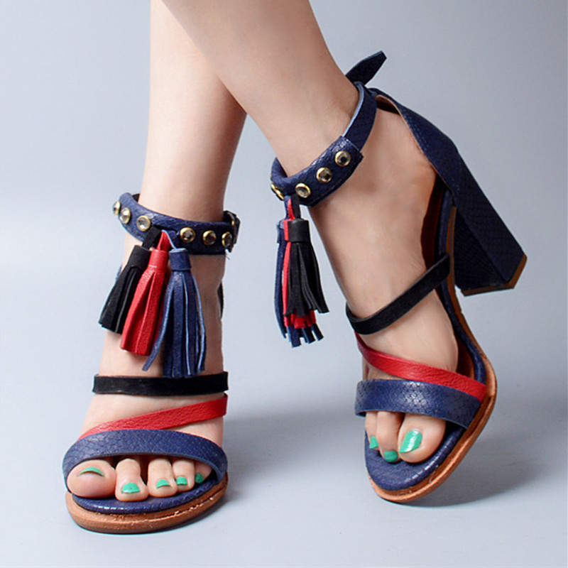 Online Get Cheap Blue Open Toe Heels -Aliexpress.com | Alibaba Group