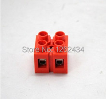 Free shipping H2519-2 environmental friendly flame retardant terminal screw blocks 2P