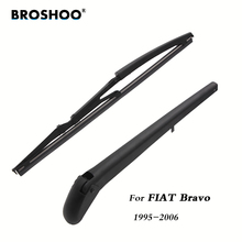 BROSHOO Car Rear Wiper Blade Blades Back Windscreen Wiper Arm For FIAT Bravo Hatchback (1995-2006) 335mm Auto Styling