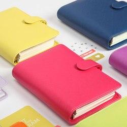 Lovedoki 2019 Nuovo Dokibook Notebook di Colore Della Caramella Della Copertura A5 A6 Loose-Leaf Tempo Planner Organizer Serie Diario Personale Quotidiano memo