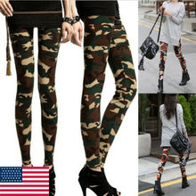 Women Camo Cargo Trousers Casual Pants Military Army Combat Camouflage New zogaa women camo cargo hip hop pants trousers 2019 new girls high waist military army combat camouflage hot capris long pants
