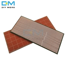 5PCS 6.5X14.5CM 2.54MM Single-sided Perforated Green Oil Universal Electric Board Multi-function Experiment 6.5X14.5 CM 2.54 MM