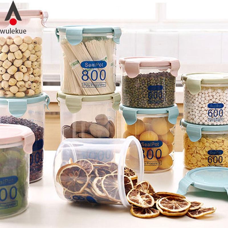 Wulekue Portable Multifunctional Transparent Plastic Seal